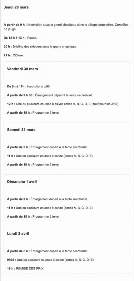 LE PROGRAMME PROVISOIRE EN ATTENDANT L'AVIS DE COURSE Unknown-2